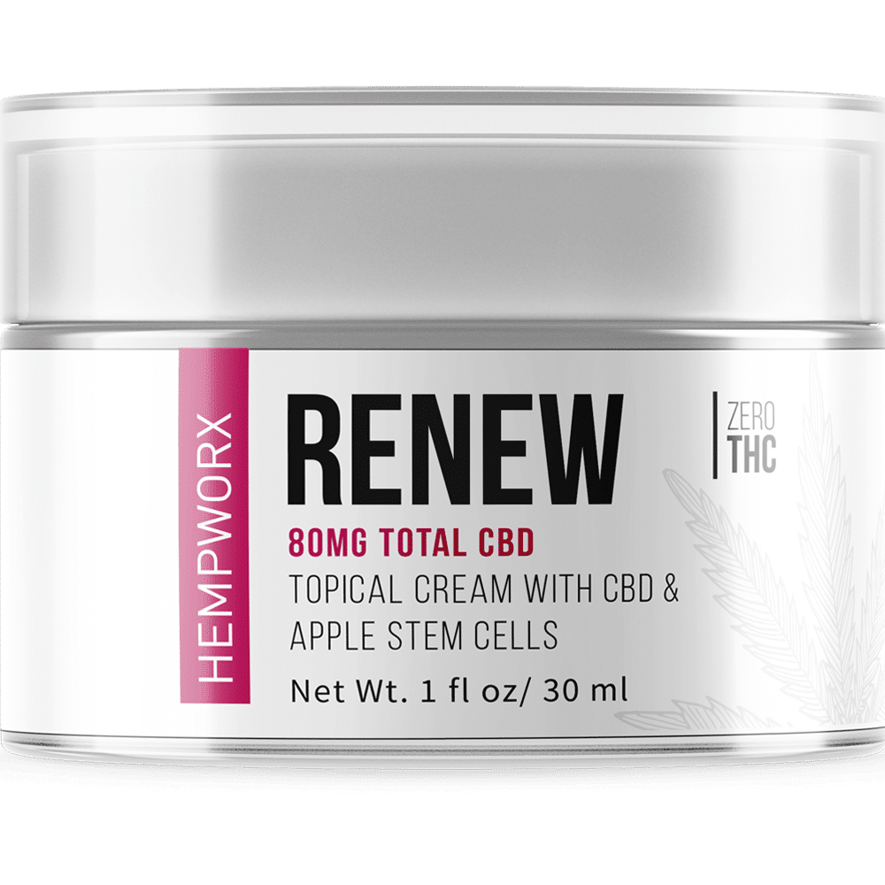 hempworx renew, hempworx renew cream, HempWorx Renew Skin Care 30ml