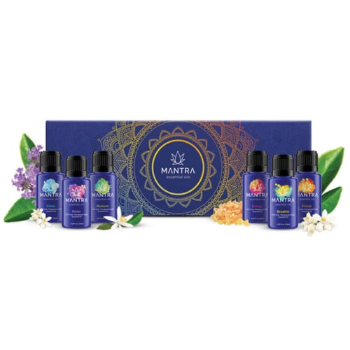 mantra essential oils, 6 pack of oils
