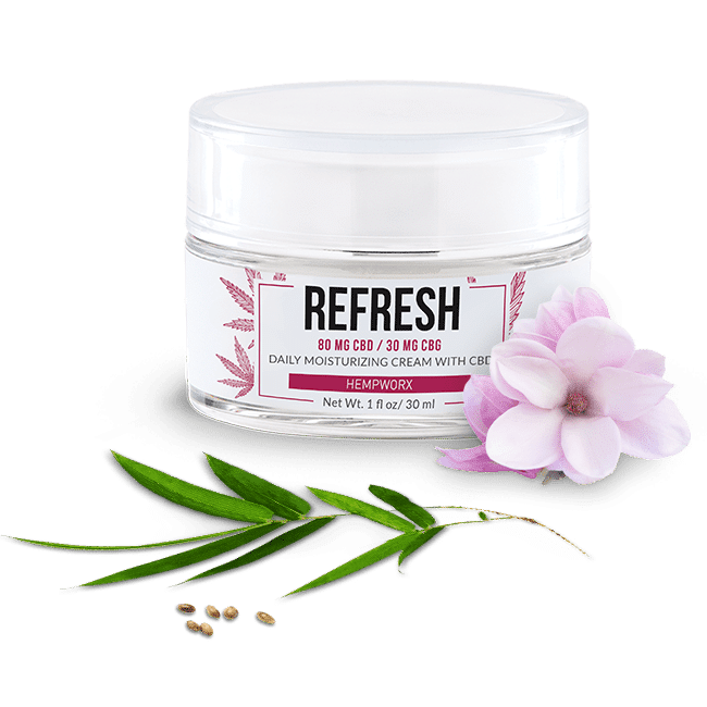 HempWorx REFRESH CBG Face Cream