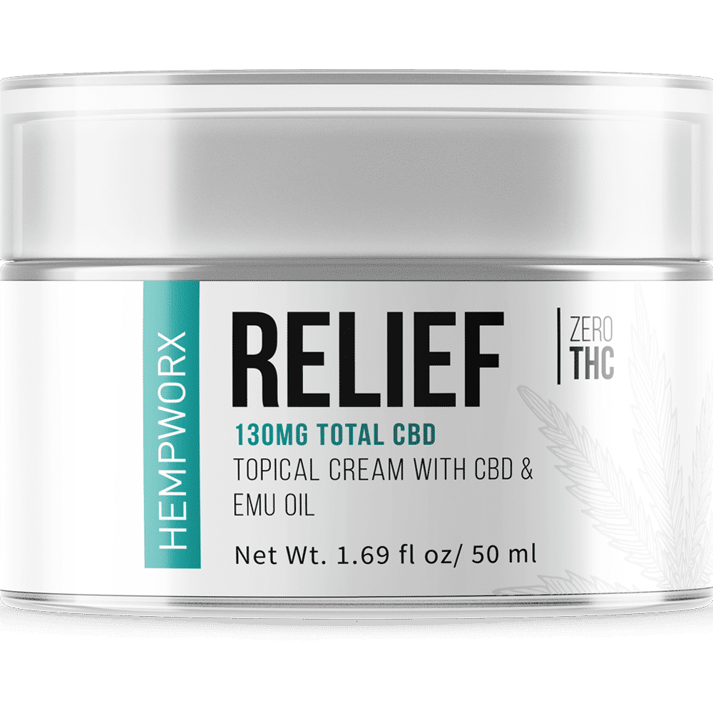 HempWorx Relief 50ml Topical Rub