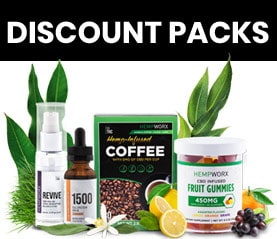 HempWorx Discounts - Value Packs