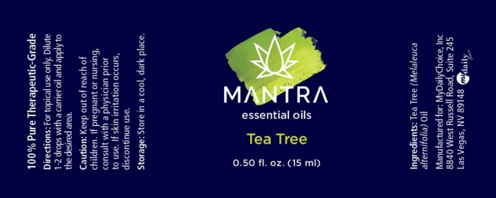 Mantra Tea Tree Ingredients