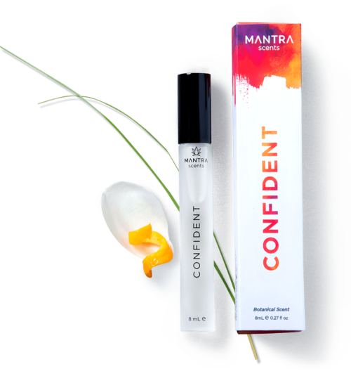 CONFIDENT Mantra Scent, Essential Oil perfume