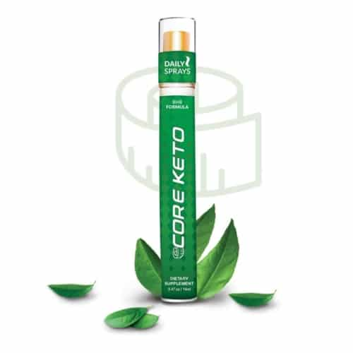 Core Keto Daily Spray, MyDailyChoice, HempWorx